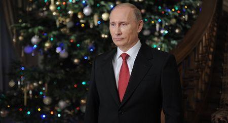 Tong thong Putin chuc mung nam moi Trump, bo qua Obama - Anh 1