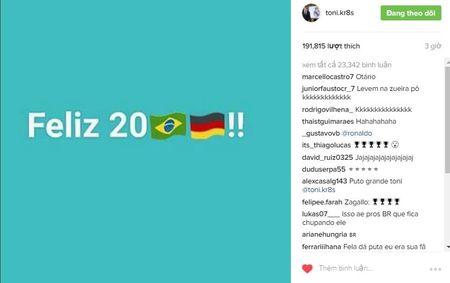 Kroos chao 2017 bang cach xat muoi noi dau cua Brazil - Anh 1