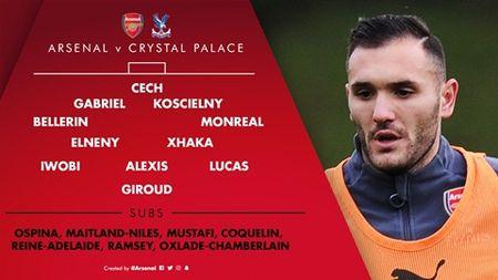 TRUC TIEP Arsenal – Crystal Palace: Oezil vang mat, Giroud da chinh - Anh 1