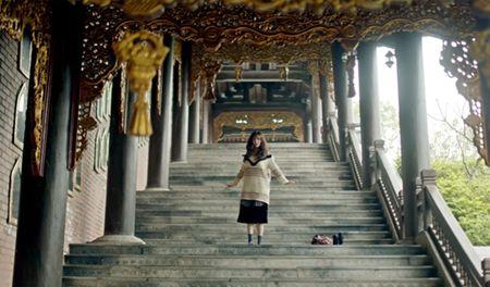 Check-in ngoi chua trong MV sieu hot 'Bao gio lay chong' o Ninh Binh - Anh 2