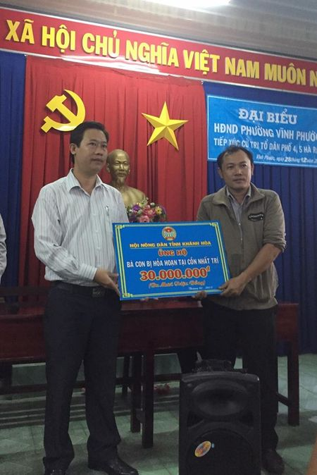 Keu goi nha hao tam ung ho cac gia dinh bi chay nha o Nha Trang - Anh 1