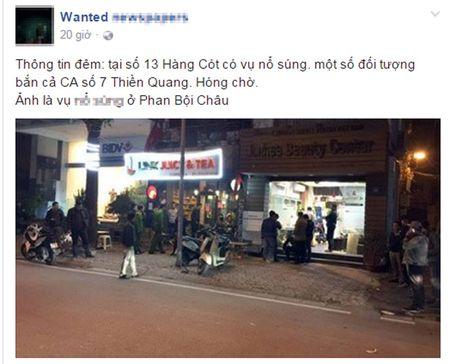 Cong an bac thong tin no sung o pho Hang Cot - Anh 1