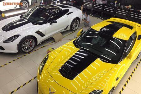 Sieu xe Chevrolet Corvette C7 gia 6 ty ve Viet Nam an Tet - Anh 11
