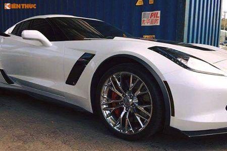 Sieu xe Chevrolet Corvette C7 gia 6 ty ve Viet Nam an Tet - Anh 4