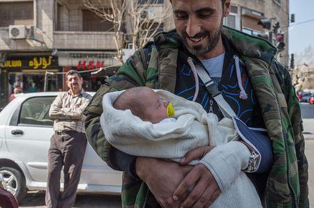 Chien su khong hoi ket o Syria qua anh Sputnik - Anh 10