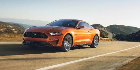 Ford trinh lang Mustang 2018 - Anh 1
