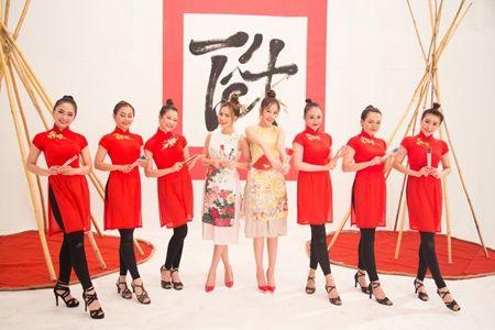 Hoang Thuy Linh tung MV ruc ro sac xuan cung Chi Pu - Anh 3