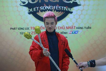 Ngo Kien Huy, Lan Phuong, My Linh cuoi khong ngot tren san tap - Anh 1