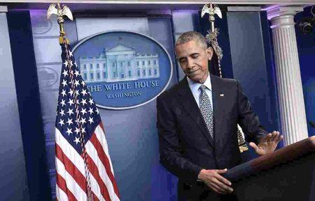 Tong thong Obama noi gi trong buoi hop bao cuoi cung? - Anh 1
