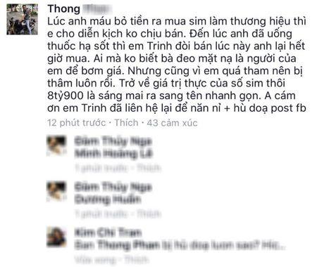 Dai gia tra 18,1 ti cho sieu sim: Toi khong co trach nhiem mua sim cua Ngoc Trinh - Anh 3