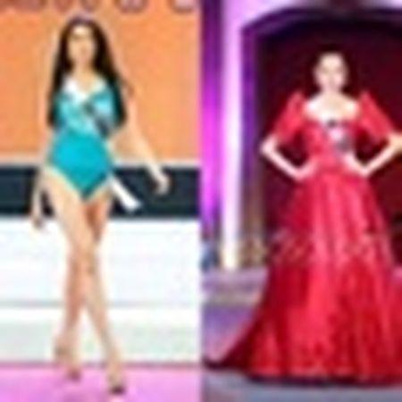 Thi sinh Miss Universe lo nhuoc diem co the khi dien ao tam - Anh 8