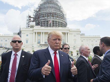 Thu phu Washington chuan bi cho le nham chuc cua Tong thong Donald Trump - VIDEO - Anh 1