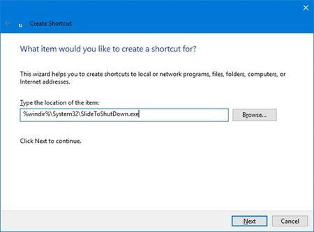 Windows 10: Kich hoat tinh nang Slide to shut down - Anh 2