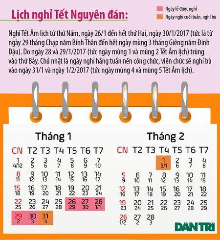 Lich 7 ngay nghi Tet Nguyen Dan Dinh Dau 2017 - Anh 1