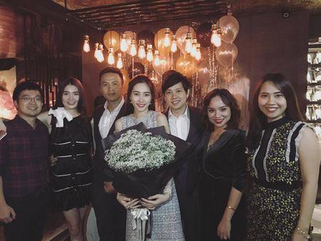 Hoa hau Thu Thao oa khoc, hon ban trai dai gia trong sinh nhat - Anh 1