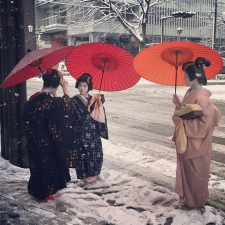 Ngam Kyoto dep nhu co tich mua tuyet roi - Anh 10