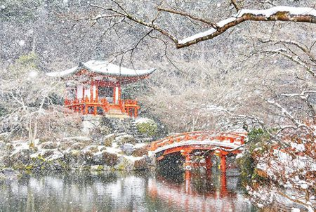 Ngam Kyoto dep nhu co tich mua tuyet roi - Anh 11