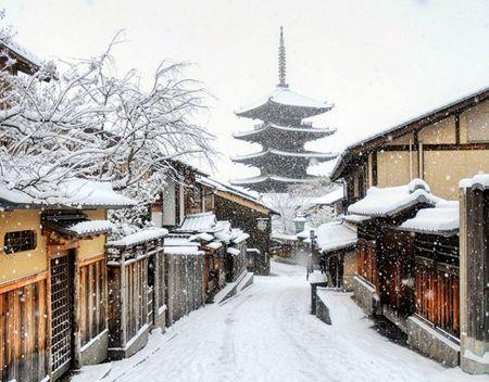 Ngam Kyoto dep nhu co tich mua tuyet roi - Anh 12