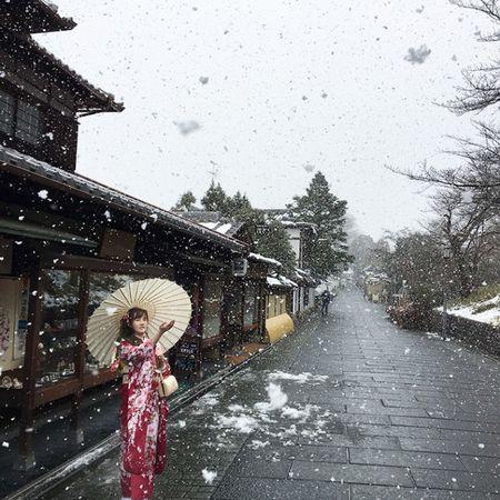 Ngam Kyoto dep nhu co tich mua tuyet roi - Anh 13