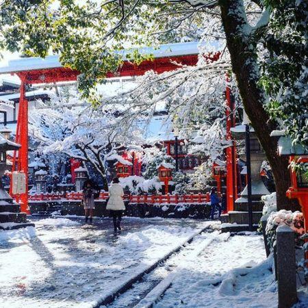 Ngam Kyoto dep nhu co tich mua tuyet roi - Anh 23