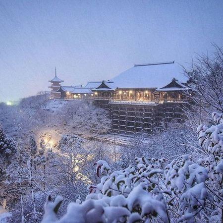 Ngam Kyoto dep nhu co tich mua tuyet roi - Anh 24