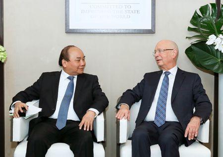 Thu tuong tim co hoi cho kinh te Viet Nam tai Davos - Anh 1