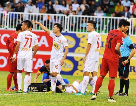 Hai Phong thang lon, HAGL thua dam truoc Ha Noi FC - Anh 1