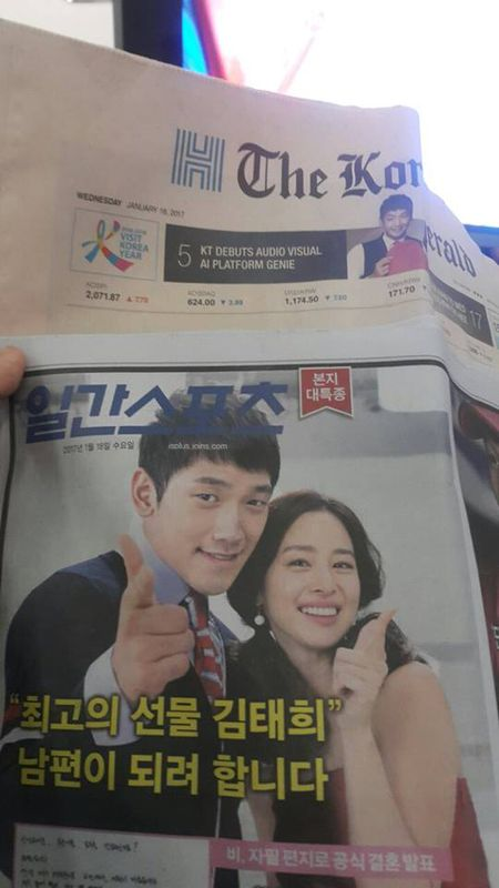 Hinh anh moi nhat trong dam cuoi Bi Rain va Kim Tae Hee - Anh 15