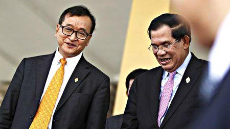 Thu tuong Hun Sen kien ong Sam Rainsy, doi 1 trieu USD vi toi phi bang - Anh 1
