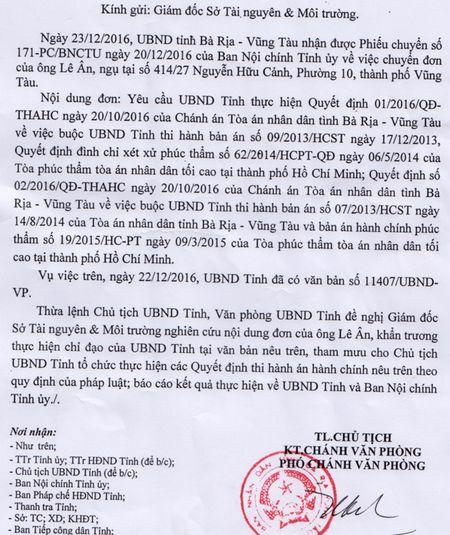 Ba Ria - Vung Tau lo thieu tien boi thuong cho dai gia Le An - Anh 2