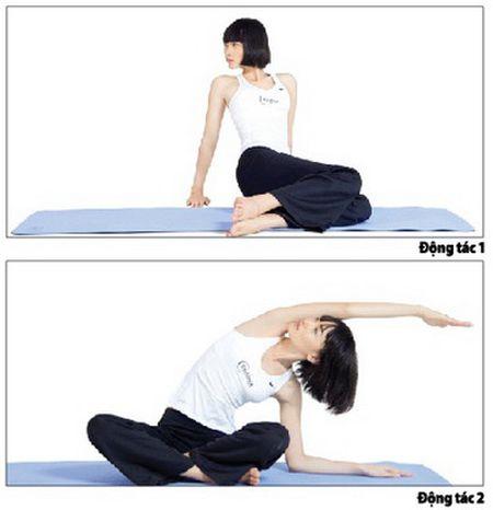 Ngu ngon voi 10 phut yoga moi ngay - Anh 1