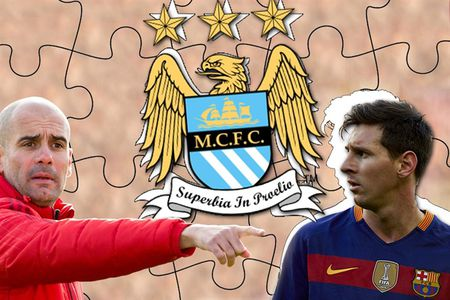 Pep Guardiola buoc phai nhin ve phia Messi nhu mot chiec phao cuu sinh? - Anh 1