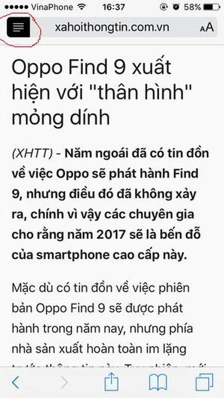 Huong dan bat tinh nang an cuc huu ich trong Safari cua iPhone - Anh 2