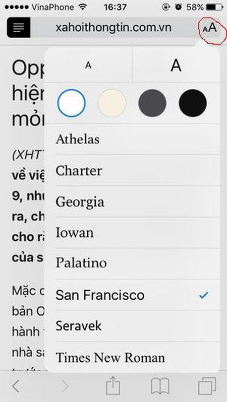 Huong dan bat tinh nang an cuc huu ich trong Safari cua iPhone - Anh 3