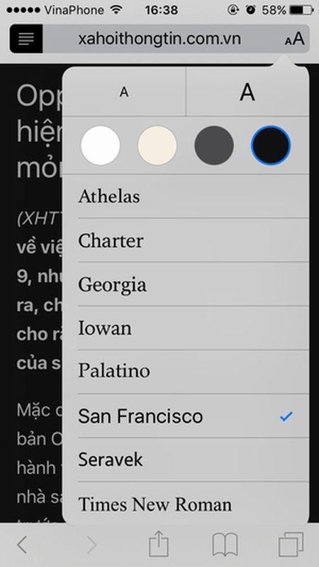 Huong dan bat tinh nang an cuc huu ich trong Safari cua iPhone - Anh 4