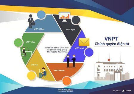 "Day manh phat trien Chinh phu dien tu: VNPT bat dau thu ""qua ngot"" - Anh 1"