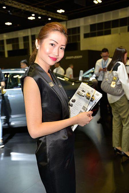 Nhung 'bong hong' duyen dang tai Singapore Motor Show 2017 - Anh 10