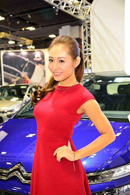 Nhung 'bong hong' duyen dang tai Singapore Motor Show 2017 - Anh 14