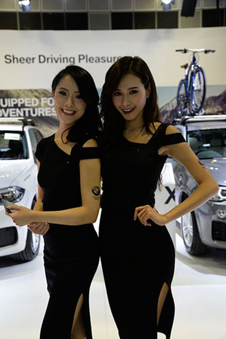 Nhung 'bong hong' duyen dang tai Singapore Motor Show 2017 - Anh 17