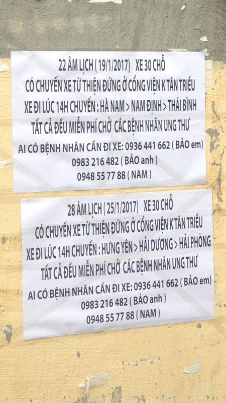 Ha Noi: Lich chay chuyen xe '0 dong' cho benh nhan ve que an Tet - Anh 4
