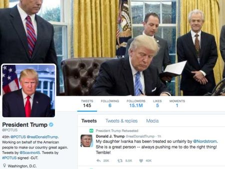 Ong Trump cong kich Nordstrom vi khong ban hang cua con gai - Anh 2