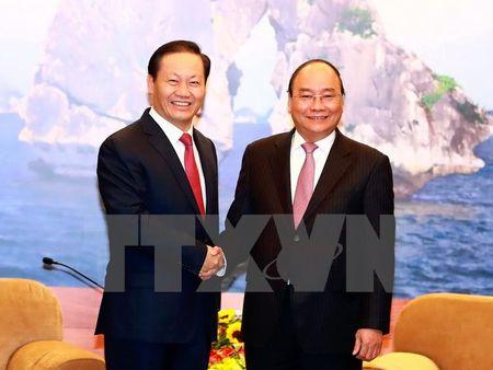 Thu tuong Nguyen Xuan Phuc tiep Bi thu Khu tu tri dan toc Choang - Anh 1