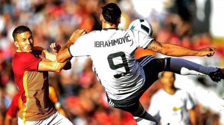 Ibrahimovic: 'Tai M.U, ap luc hien huu suot 24h' - Anh 1