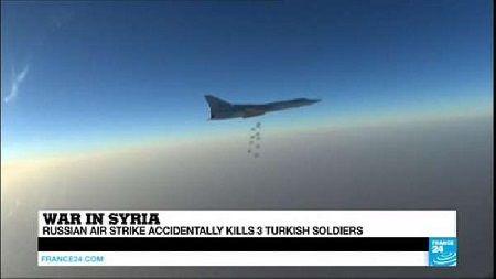 May bay Nga khong kich nham o Syria, 3 binh si Tho Nhi Ky thiet mang - Anh 1