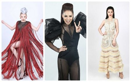 The Voice 2017: Thu Minh sexy khong thua dan em Dong Nhi va Toc Tien - Anh 1