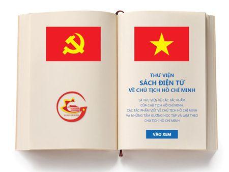 Cong thong tin thu vien sach dien tu ve Chu tich Ho Chi Minh - Anh 1