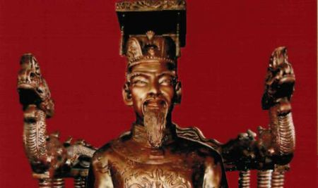 Ly ky chuyen nghiep de duoc bao truoc cua Vua Tran Nghe Tong - Anh 1