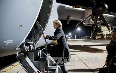 Chi mot 'sieu may bay van tai' Airbus A400M cua Duc hoat dong duoc - Anh 1