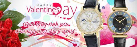 Dong ho - Mon qua tang valentine y nghia nhat - Anh 1