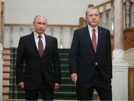 Moscow-Ankara dong y tang cuong hop tac quan su trong hoat dong diet IS o Syria - Anh 1
